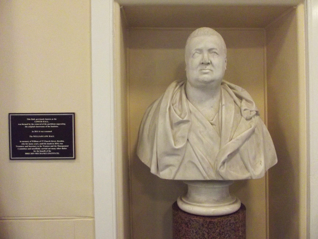 Lord Ramsay - 11th Earl of Dalhousie Bust