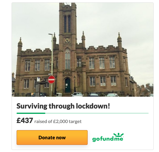 Go Fund Me - Surviving Through Lockdown